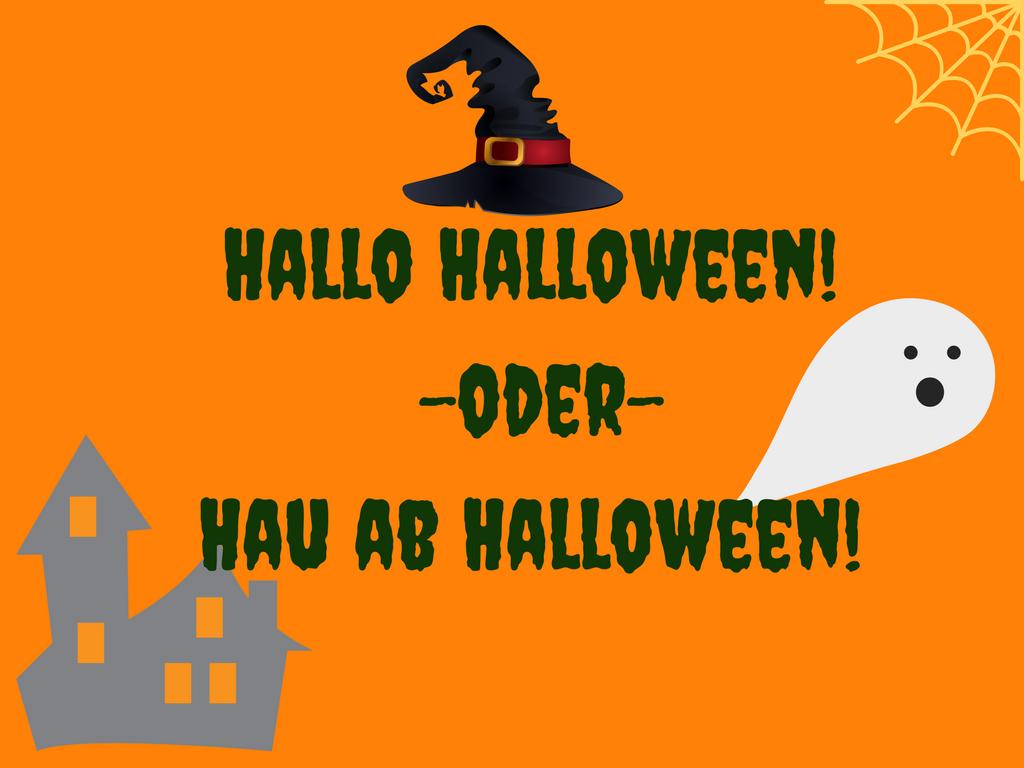 Happy Halloween - oder hau ab Halloween?! - SIMPLYLOVELYCHAOS