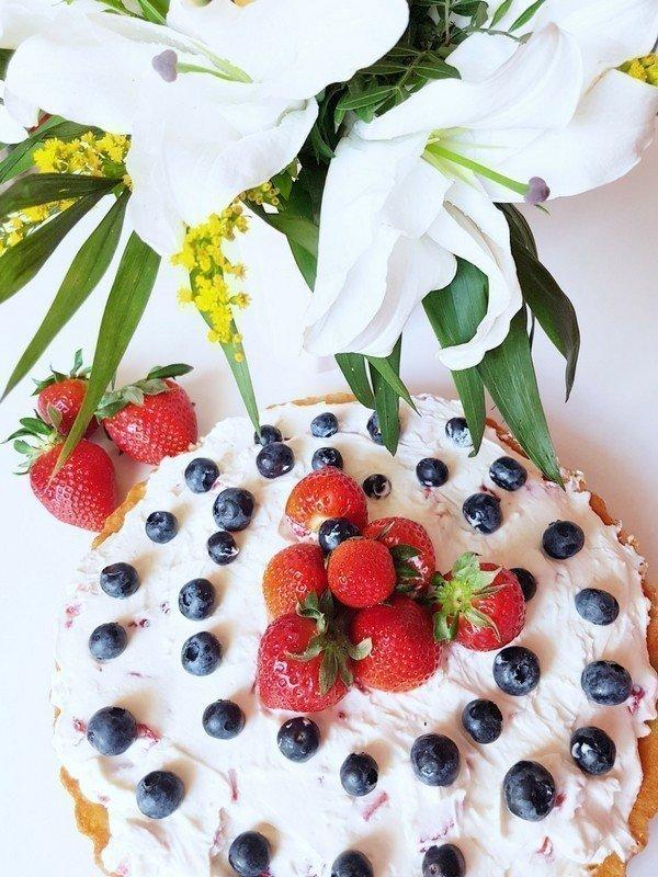 Erdbeer-Mascarpone-Torte ohne backen