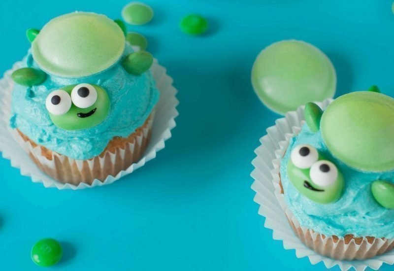 Kleiner Kühlschrank Für Schildkröten : Schildkröten cupcakes rezept idee für kindergeburtstag