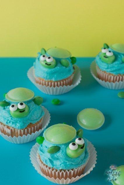 Schildkroten Cupcakes Rezept Idee Fur Kindergeburtstag