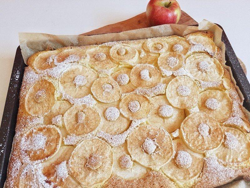 Einfacher Apfelkuchen Vom Blech Familienrezept Simplylovelychaos
