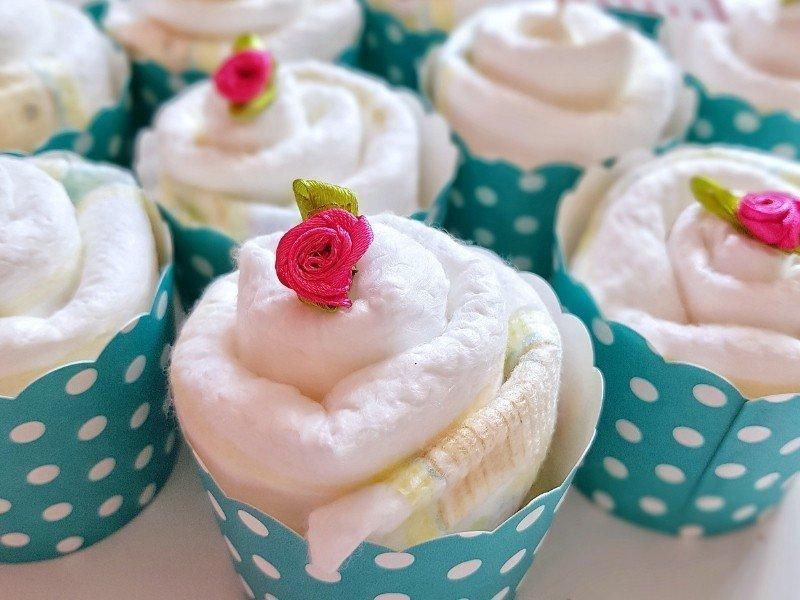 Hallo Baby Windel Cupcakes Geschenk Zur Geburt Simplylovelychaos