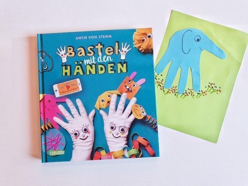 Basteln Mit Den Händen Bastelbuch Für Kleine Kinder